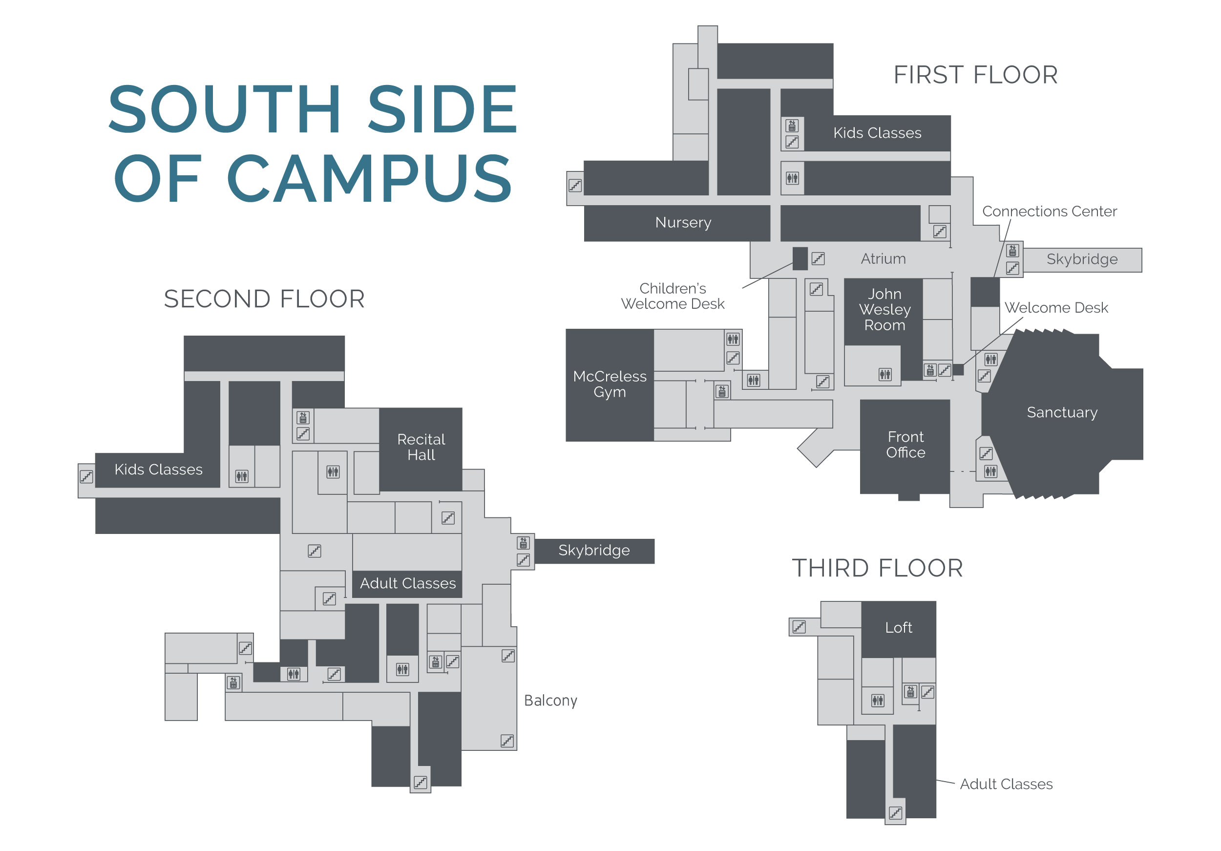 Umc Campus Map.Campus Map University United Methodist Church